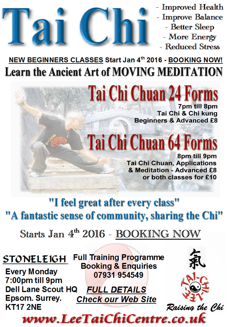 January 2016 Classes Leaflet